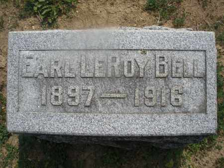 BELL, EARL LEROY - Montgomery County, Ohio | EARL LEROY BELL - Ohio Gravestone Photos