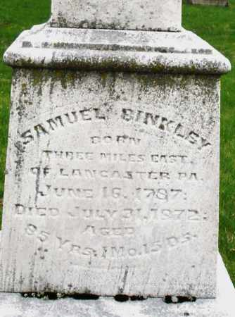 BINKLEY, SAMUEL - Montgomery County, Ohio | SAMUEL BINKLEY - Ohio Gravestone Photos
