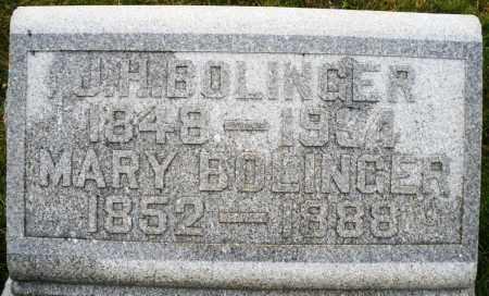 BOLINGER, MARY - Montgomery County, Ohio | MARY BOLINGER - Ohio Gravestone Photos