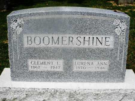 BOOMERSHINE, CLEMENT - Montgomery County, Ohio | CLEMENT BOOMERSHINE - Ohio Gravestone Photos