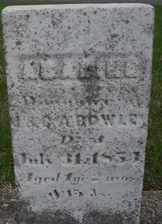BOWLES, ADALINE - Montgomery County, Ohio | ADALINE BOWLES - Ohio Gravestone Photos