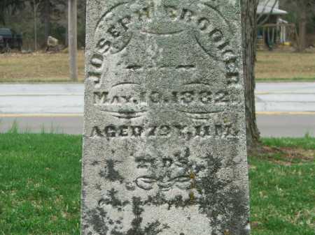 BROOKER, JOSEPH E. - Montgomery County, Ohio | JOSEPH E. BROOKER - Ohio Gravestone Photos