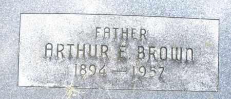 BROWN, ARTHUR E. - Montgomery County, Ohio   ARTHUR E. BROWN - Ohio Gravestone Photos