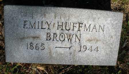 BROWN, EMILY - Montgomery County, Ohio   EMILY BROWN - Ohio Gravestone Photos