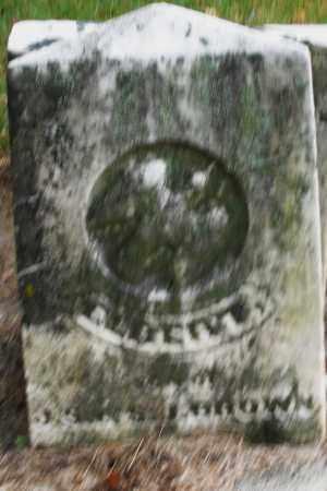 BROWN, ELBERT - Montgomery County, Ohio   ELBERT BROWN - Ohio Gravestone Photos