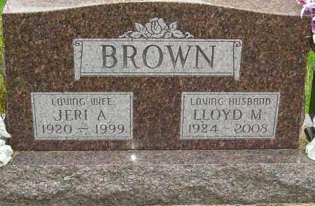 BROWN, LLOYD - Montgomery County, Ohio   LLOYD BROWN - Ohio Gravestone Photos