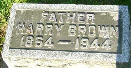 BROWN, HARRY - Montgomery County, Ohio   HARRY BROWN - Ohio Gravestone Photos