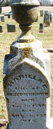 BROWN, MARILLA - Montgomery County, Ohio   MARILLA BROWN - Ohio Gravestone Photos