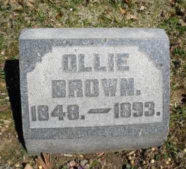 BROWN, OLLIE - Montgomery County, Ohio   OLLIE BROWN - Ohio Gravestone Photos