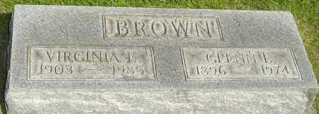 BROWN, GLENN E - Montgomery County, Ohio   GLENN E BROWN - Ohio Gravestone Photos