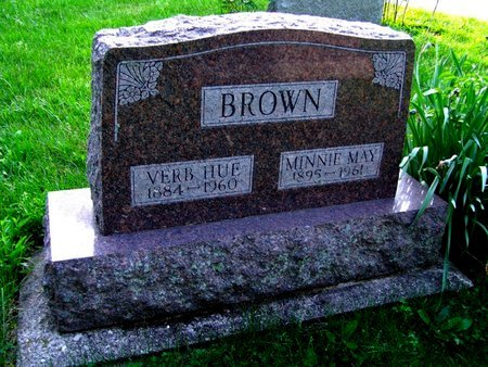 BROWN, VERB HUE - Montgomery County, Ohio | VERB HUE BROWN - Ohio Gravestone Photos