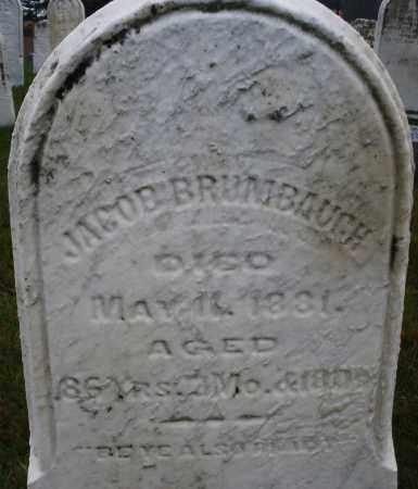 BRUMBAUGH, JACOB - Montgomery County, Ohio | JACOB BRUMBAUGH - Ohio Gravestone Photos