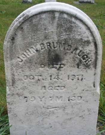 BRUMBAUGH, JOHN - Montgomery County, Ohio | JOHN BRUMBAUGH - Ohio Gravestone Photos