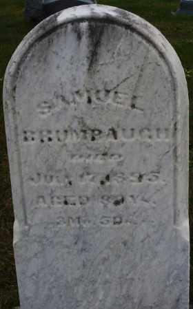 BRUMBAUGH, SAMUEL - Montgomery County, Ohio | SAMUEL BRUMBAUGH - Ohio Gravestone Photos