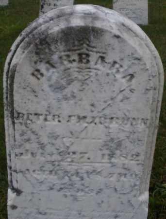 BRUNN, BARBARA - Montgomery County, Ohio | BARBARA BRUNN - Ohio Gravestone Photos