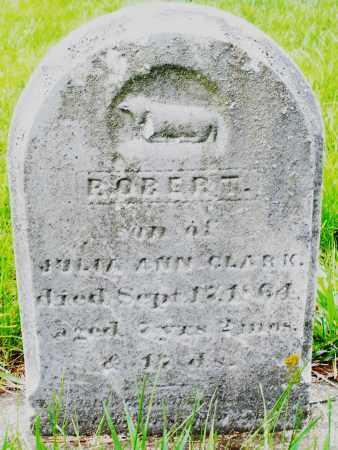 CLARK, ROBERT - Montgomery County, Ohio   ROBERT CLARK - Ohio Gravestone Photos