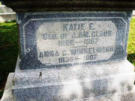 WINKELMANN, ANNA C. - Montgomery County, Ohio | ANNA C. WINKELMANN - Ohio Gravestone Photos