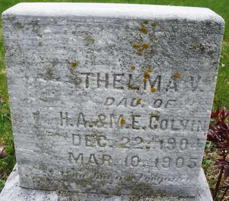 COLVIN, THELMA V. - Montgomery County, Ohio | THELMA V. COLVIN - Ohio Gravestone Photos