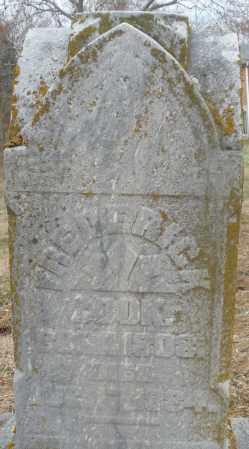COOK, FREDERICK - Montgomery County, Ohio | FREDERICK COOK - Ohio Gravestone Photos