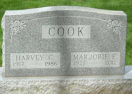 COOK, HARVEY C - Montgomery County, Ohio   HARVEY C COOK - Ohio Gravestone Photos