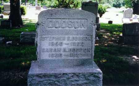 DODSON, STEPHEN S - Montgomery County, Ohio | STEPHEN S DODSON - Ohio Gravestone Photos