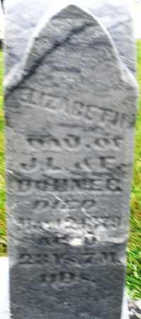 DOHNER, ELIZABETH - Montgomery County, Ohio   ELIZABETH DOHNER - Ohio Gravestone Photos