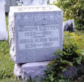 ETTER, ANNA H. - Montgomery County, Ohio | ANNA H. ETTER - Ohio Gravestone Photos