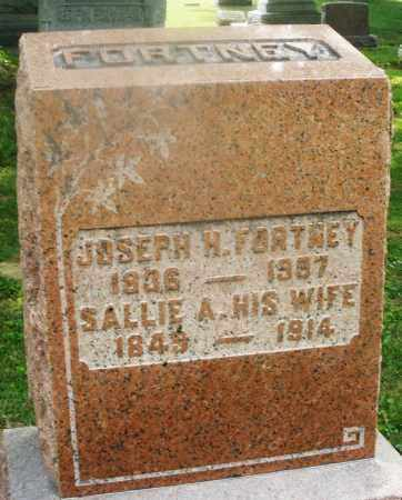 FORTNEY, SALLIE A. - Montgomery County, Ohio | SALLIE A. FORTNEY - Ohio Gravestone Photos