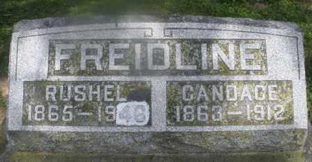 FREIDLINE, CANDACE - Montgomery County, Ohio | CANDACE FREIDLINE - Ohio Gravestone Photos