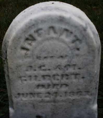 GILBERT, INFANT - Montgomery County, Ohio   INFANT GILBERT - Ohio Gravestone Photos