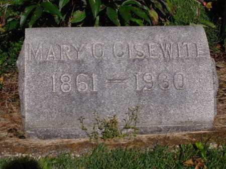GISEWITE, MARY C - Montgomery County, Ohio | MARY C GISEWITE - Ohio Gravestone Photos