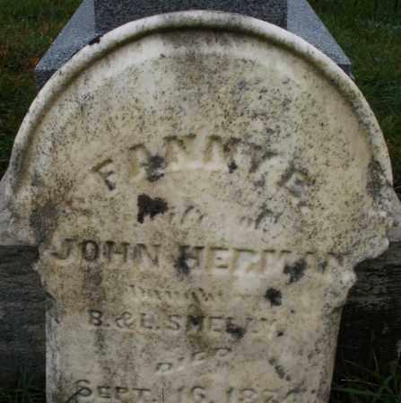 SMELAY ? HERMAN, FANNY E. - Montgomery County, Ohio   FANNY E. SMELAY ? HERMAN - Ohio Gravestone Photos