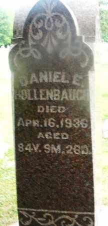 HOLLENBAUGH, DANIEL E. - Montgomery County, Ohio | DANIEL E. HOLLENBAUGH - Ohio Gravestone Photos