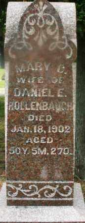 HOLLENBAUGH, MARY C. - Montgomery County, Ohio | MARY C. HOLLENBAUGH - Ohio Gravestone Photos