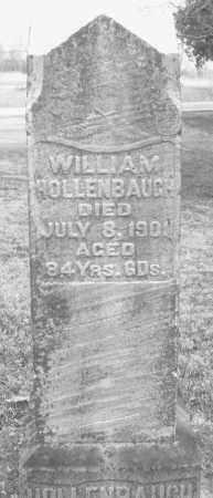 HOLLENBAUGH, WILLIAM - Montgomery County, Ohio   WILLIAM HOLLENBAUGH - Ohio Gravestone Photos