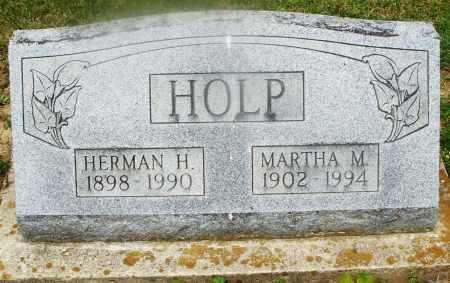 HOLP, MARTHA M. - Montgomery County, Ohio | MARTHA M. HOLP - Ohio Gravestone Photos