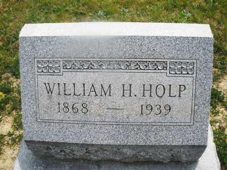 HOLP, WILLIAM H. - Montgomery County, Ohio | WILLIAM H. HOLP - Ohio Gravestone Photos
