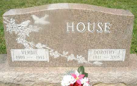 HOUSE, DOROTHY J. - Montgomery County, Ohio | DOROTHY J. HOUSE - Ohio Gravestone Photos