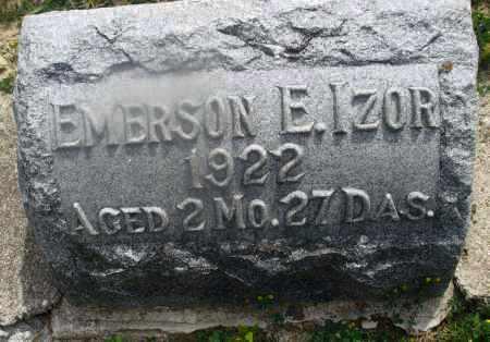 IZOR, EMERSON E. - Montgomery County, Ohio | EMERSON E. IZOR - Ohio Gravestone Photos