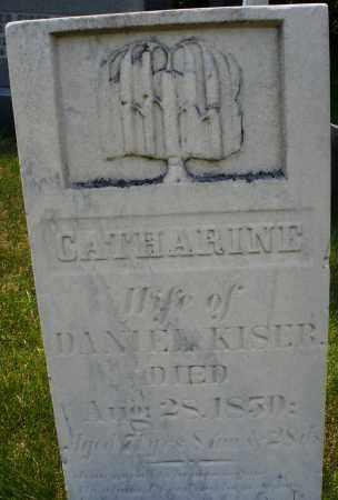 KISER, CATHARINE - Montgomery County, Ohio   CATHARINE KISER - Ohio Gravestone Photos