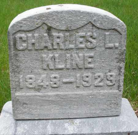 KLINE, CHARLES L. - Montgomery County, Ohio   CHARLES L. KLINE - Ohio Gravestone Photos