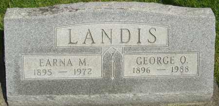 LANDIS, EARNA - Montgomery County, Ohio | EARNA LANDIS - Ohio Gravestone Photos