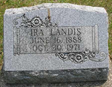 LANDIS, IRA - Montgomery County, Ohio | IRA LANDIS - Ohio Gravestone Photos