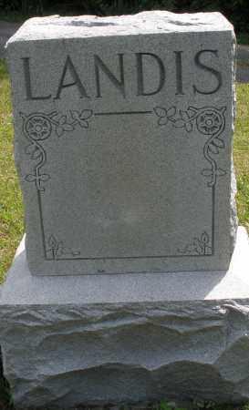 LANDIS, MONUMENT - Montgomery County, Ohio   MONUMENT LANDIS - Ohio Gravestone Photos