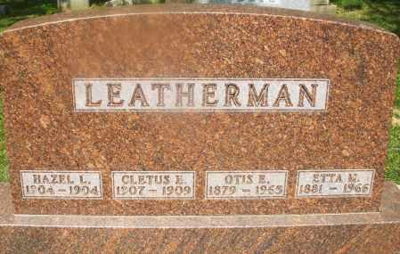 LEATHERMAN, HAZEL L. - Montgomery County, Ohio | HAZEL L. LEATHERMAN - Ohio Gravestone Photos