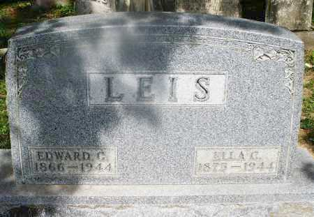 LEIS, ELLA C. - Montgomery County, Ohio | ELLA C. LEIS - Ohio Gravestone Photos