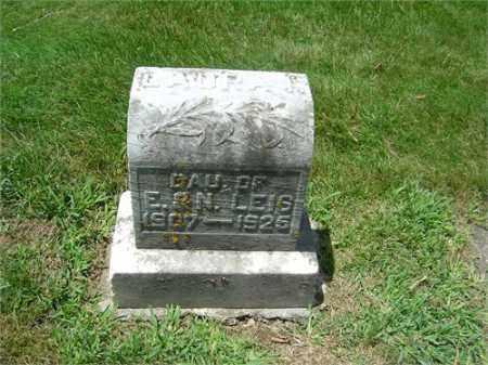LEIS, LAURA I - Montgomery County, Ohio   LAURA I LEIS - Ohio Gravestone Photos