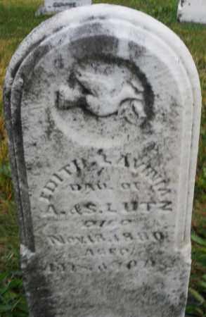 LUTZ, EDITH A. - Montgomery County, Ohio | EDITH A. LUTZ - Ohio Gravestone Photos