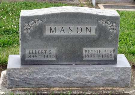MASON, ELBERT S. - Montgomery County, Ohio   ELBERT S. MASON - Ohio Gravestone Photos