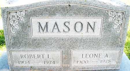 MASON, LEONE A. - Montgomery County, Ohio | LEONE A. MASON - Ohio Gravestone Photos